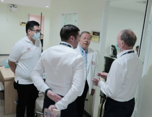 Bangkok Police Hospital Crisis Centre with British Embassy Consular