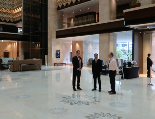 ASQ Hotel visit in Bangkok with Vice Consul Derek Johnstone from the British Embassy