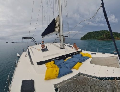 Overnight Catamaran Trip off Koh Chang shores