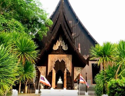 THE BLACK HOUSE IN CHIANG RAI – BAAN DAM – Guest Vlog Amazing Chiang Mai