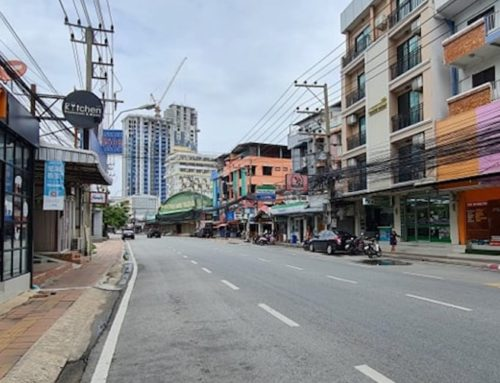 How was first day of Pattaya going into Dark Red Zone status?
