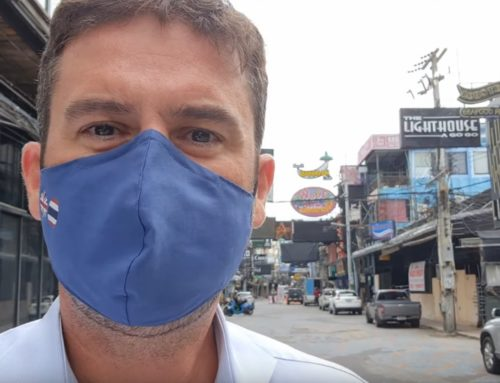 Heartbreaking scenes along Pattaya Beach Road due to Pandemic