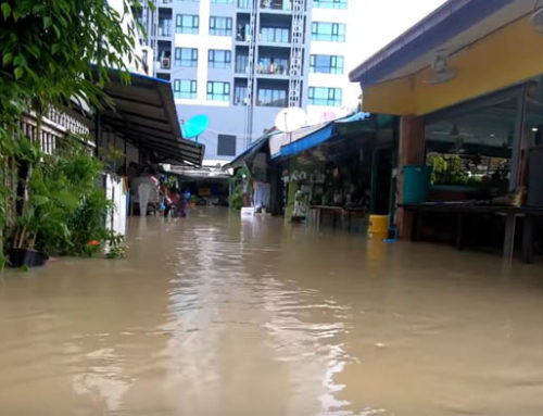 The great floods of Pattaya, Thailand – Guest Vlog NDtvi Thailand