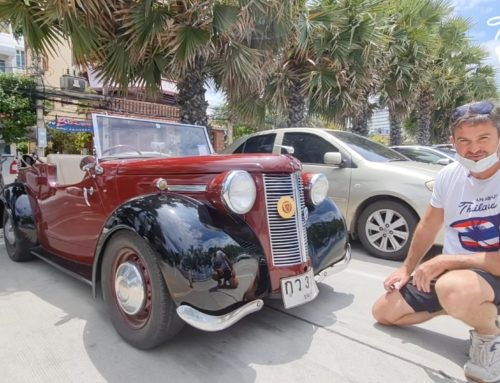 One of a kind classic car discovered in Pattaya
